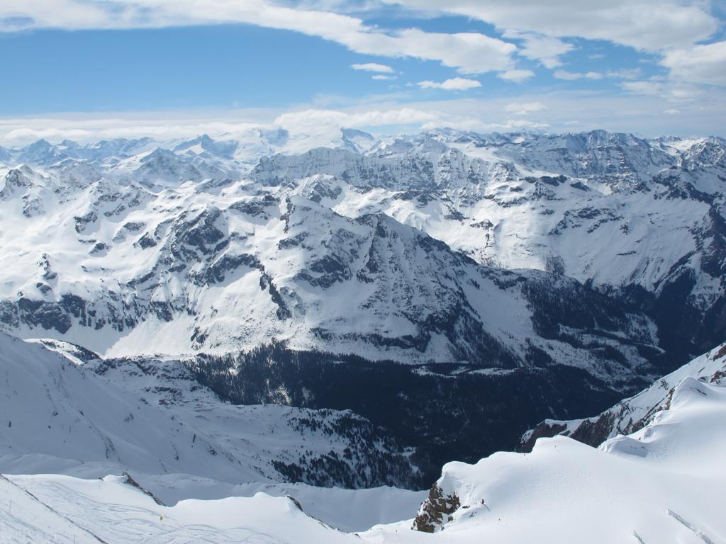 Skiløb i Alperne