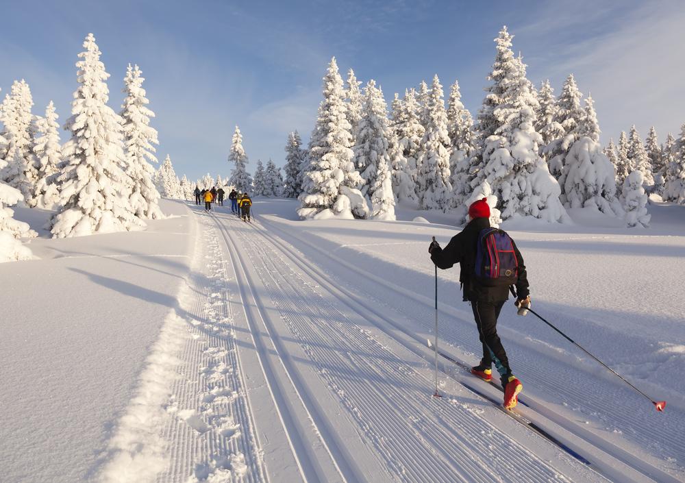 Langrend og skirejser i Norge er den perfekte kombination